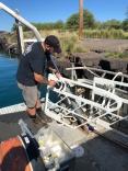 Jake assembles a Porpoise frame.