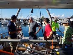 Huki Pono back deck