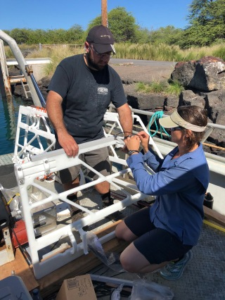 Jake & Dallas assembling​ one of the Porpoise receivers.​